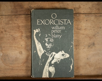 The Exorcist, William Peter Blatty, Version portugaise, 1975, Circle of readers, vampire, vintage
