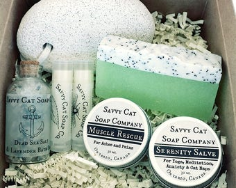 Bridal Shower Gift - Spa Gift, Bridesmaids Gift, Maid Of Honor, Mother of the Bride, Bridesmaids proposal, Lynx Gift Set, Spa Gift, Handmade