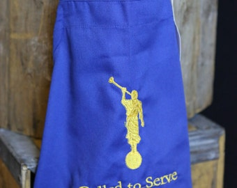 Missionary Apron - Called to Serve
