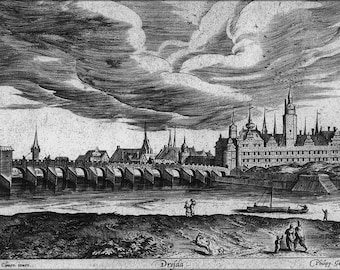 Poster, Many Sizes Available; Dresden Castle C1550 By Heinrich Van Cleef