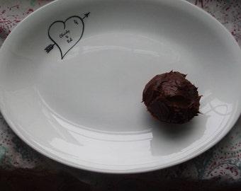 Sweethearts Personalized  Dessert Platter