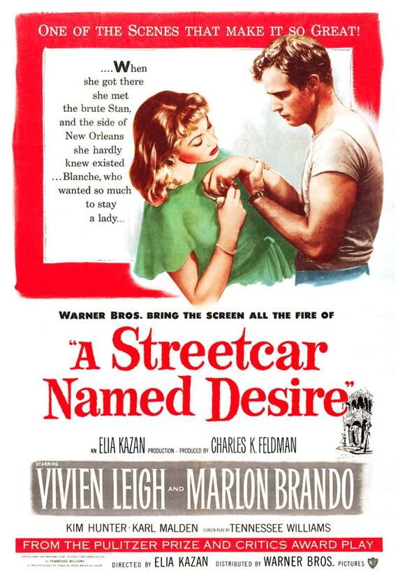 A Streetcar Named Desire Clic Movie Poster Print
