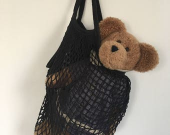 Mesh bag // String bag // Shoulder bag // Big Shopping Bag // Farmer's Market Mesh Bag // Fishnet bag