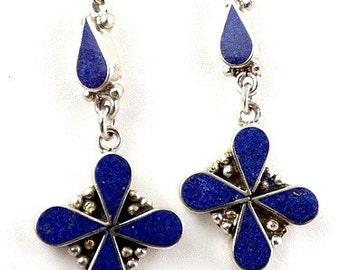 Flower ethnic jewelry, nepal jewelry Tibetan jewelry, Tibetan EARRINGS abn12.1