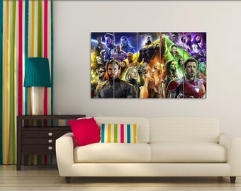 Marvel Wall Art | Etsy