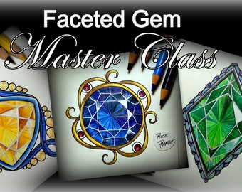 Faceted Master Class (Video and color along)