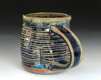 Coffee Mug rutile blue
