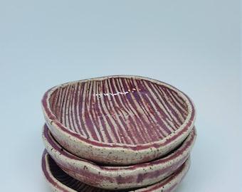 Purple Tiny Trinket bowls