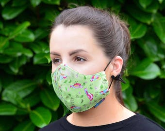 MASKERAID® Free as a Bird Reusable Cotton Face Mask