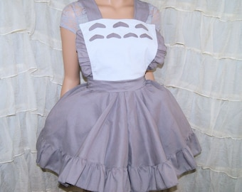 My Neighbor Totoro Pinafore Apron Costume Skirt Adult All Sizes- MTCoffinz