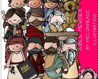 Bible Heroes clip art - Combo Pack
