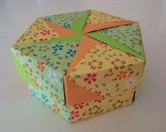 Hexagon Origami Box [CUSTOM ORDER]