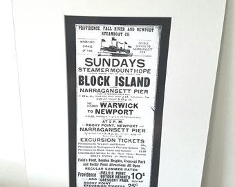 Block Island Rhode Island  silver gelatin print