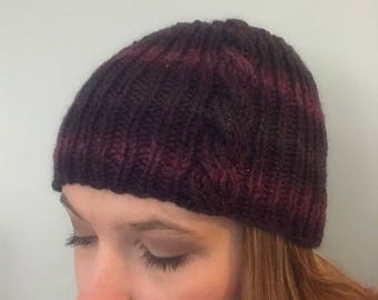 Serenade Cable Knit Hat