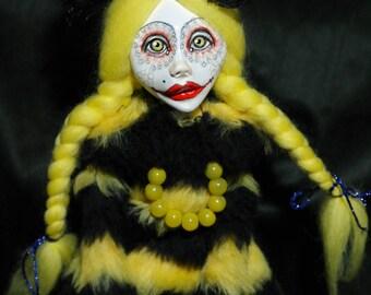 art doll, bee