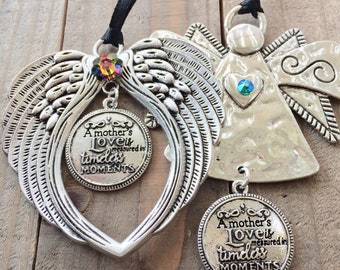 A mother's love is measured in timeless moments Angel, Mother Angel,  Gift for Mom, Angel Ornaments, Love for Mom, Mothers Day Gift,
