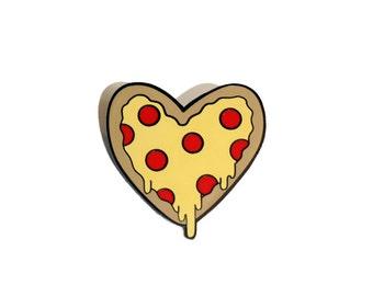 Pizza Lover Enamel Pin