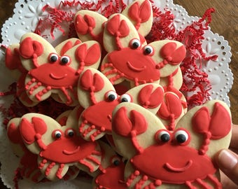 Kickin' Crabs Sugar Cookies