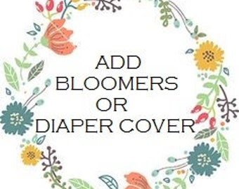 Add Bloomers Or Diaper Cover