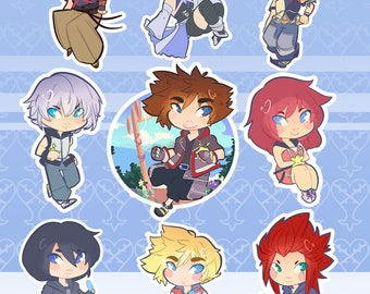 Kingdom Hearts Phone/Keychains