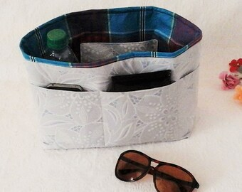 Bag Insert, Large Bag Organizer, Handbag Liner Pockets, Organizer Insert, Diaper Bag Organizer