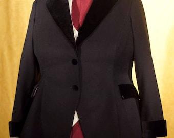 Velvet and Lace----Women's Formal Tuxedo