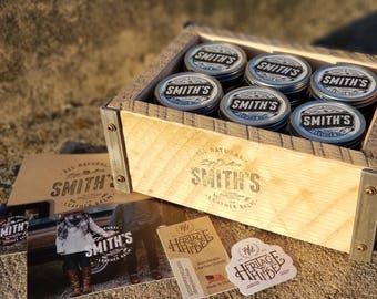 Smith's Leather Balm ~ 1oz Tin