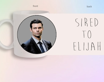 Sired To Elijah Mikaelson The Vampire Diaries Originals Portrait Front And Back Gift Mug