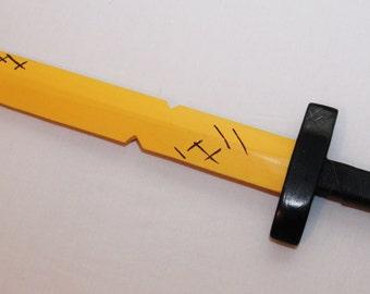 Finn's Golden Sword From Adventure Time Unofficial cartoon inspired fan build