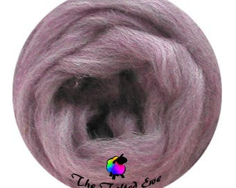 Needle Felting Wool Roving / ES6 Lilac Blossoms Carded Wool Sliver