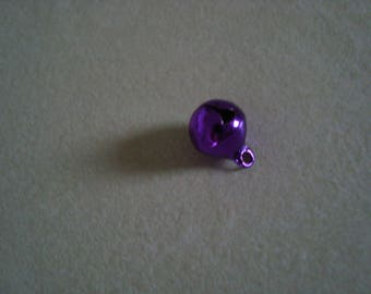 A purple color 8 mm Bell charm