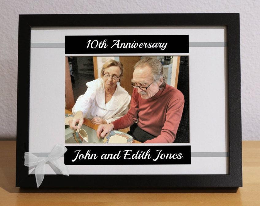 Ten Year Wedding Anniversary Gift Ideas: 10th Anniversary Gift 10 Year Wedding Anniversary 10th