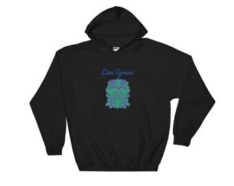 Live Green Hooded Sweatshirt