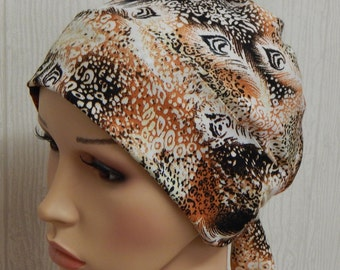 Chemotherapy bonnet, cancer head wear, alopecia head covering, chemo head wrap cap, hair loss headscarf, gift idea for cancer patients