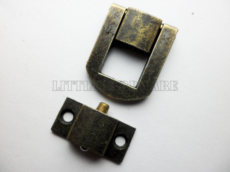 20mmx25mm Lock Latch Small Box Hardware Jewelry Box Latch Gift