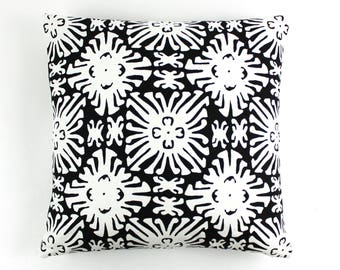 Quadrille China Seas Sigourney Small Scale Pillow (shown in Reverse Black on White -comes in many colors)