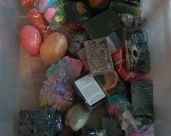 25 Mixed bars of soap. Wholesale. Bulk buy.