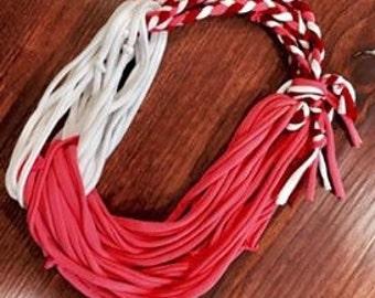 Multi color boho scarf