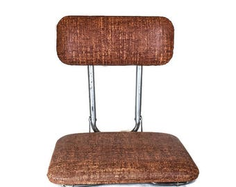 Vintage Stadium Seat - Bleacher Stadium Seat, Portable Stadium Seat, Folding Stadium Seat, Folding Bleacher Seat, Portable Bleacher Seat