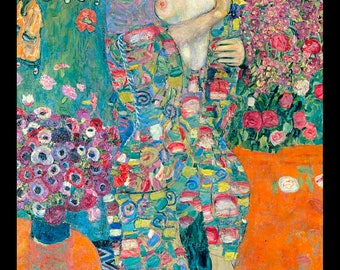 Die Tänzerin - The Dancer - by Gustav Klimt  1918 - Giclee Art Print