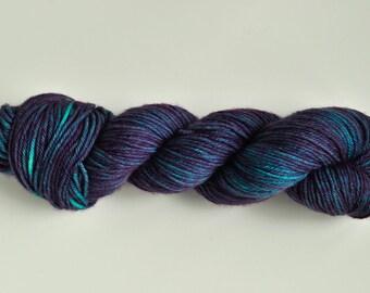 Hand Dyed Superwash Merino Worsted Weight Yarn