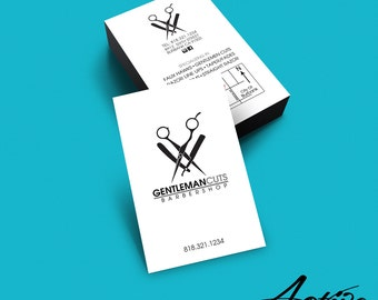 Business card design barber salon stylist hairdresser business card design barber salon stylist hairdresser barbershop branding colourmoves