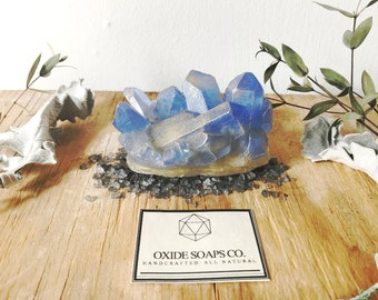 Large Royal Blue Quartz Soap