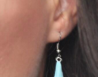 calla jewellery, calla earrings, calla gift, red calla, blue calla, blue bridal jewellery, bridal calla, azure calla, custom bride jewelry