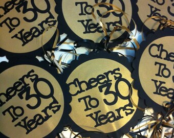 Related to this item. Paper u0026 Party Supplies ... & Items similar to 30th Birthday Decorations on Etsy