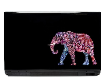 Elephant Decal | elephant yeti decal laptop decals macbook decals iphone decals elephant decor safari animals yeti sticker elephants