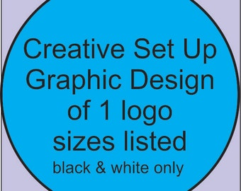 Custom business logo design, graphic design. Rubber Stamps Port design custom business logo, artwork for the purpose of a rubber stamp.