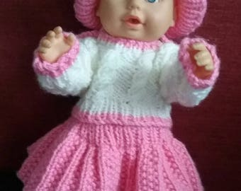 Hand Knitted dolls clothes
