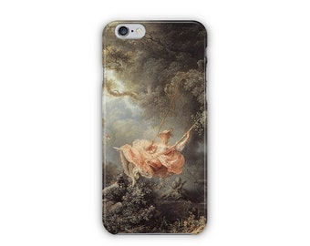 Case for iPhone 8, iPhone 6s,  iPhone 6 Plus,  iPhone 5s,  iPhone SE,  iPhone 5c,  iPhone 7  - The Swing By Jean-Honoré Fragonard