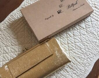 Vintage NIB 'Original Billpack Artisans' Gold Clutch Purse